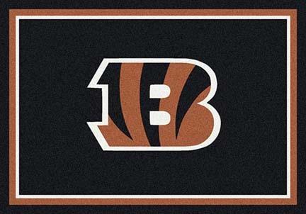 "Cincinnati Bengals 3' 10"" x 5' 4"" Team Spirit Area Rug (Brown)"