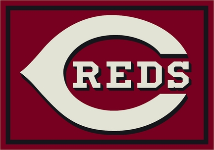 "Cincinnati Reds 3'10"" x 5'4"" Team Spirit Area Rug"
