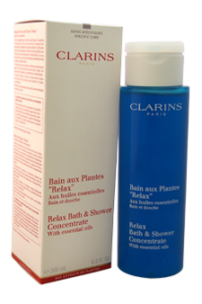 Clarins U-BB-2118 Relax Bath & Shower Concentrate for Unisex 6.8 oz