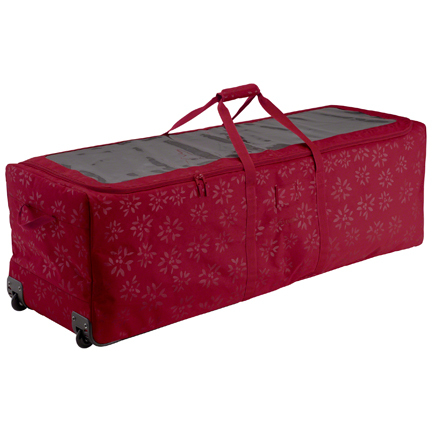 Classic Accessories Christmas Tree Rolling Storage Duffel Bag