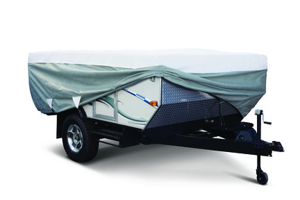 Classic Accessories Deluxe Polypro III Folding Camper Trailer Cover (12' - 14'L Trailers)