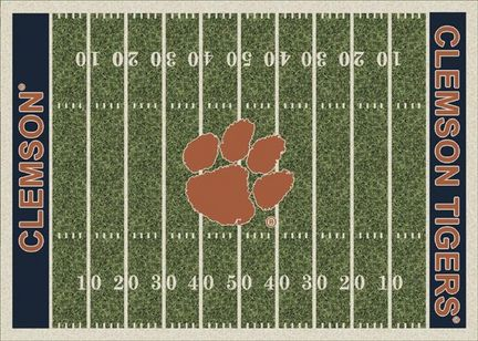 "Clemson Tigers 3' 10"" x 5' 4"" Home Field Area Rug"