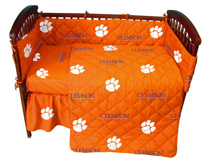 Clemson Tigers Baby Crib Set