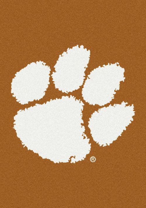 "Clemson Tigers ""Vertical"" 3'10""x 5'4"" Team Spirit Area Rug"