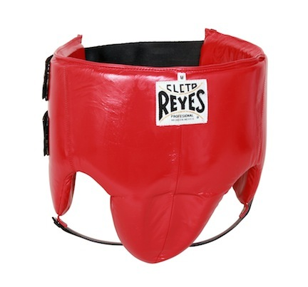 Cleto Reyes Red Kidney and Foul Protection Groin Guard (Large)