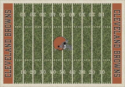 "Cleveland Browns 3' 10"" x 5' 4"" Home Field Area Rug"