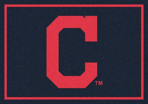 "Cleveland Indians 3'10"" x 5'4"" Team Spirit Area Rug"