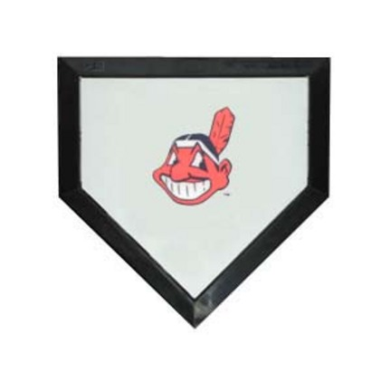 Cleveland Indians Licensed Authentic Pro Home Plate from Schutt