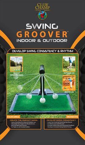 Club Champ 9222 Indoor Outdoor Swing Groover