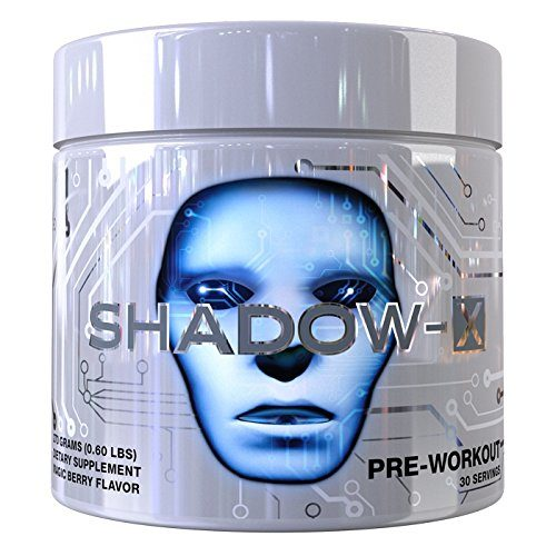 Cobra Labs 8660011 Shadow X Pre Workout Supplement Neon Tropic - 30 Serving