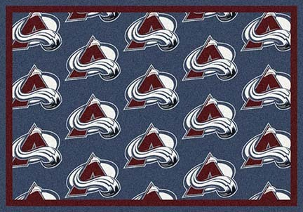"Colorado Avalanche 2' 1"" x 7' 8"" Team Repeat Area Rug Runner"