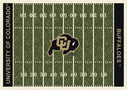 "Colorado Buffaloes 3' 10"" x 5' 4"" Home Field Area Rug"