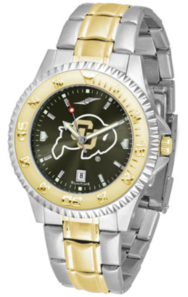 Colorado Buffaloes Competitor AnoChrome Two Tone Watch