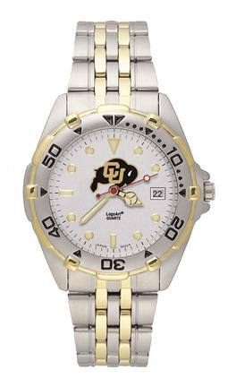 Colorado Buffaloes Men's All Star Watch with Bracelet Strap