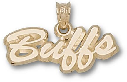 "Colorado Buffaloes Script ""Buffs"" Pendant - 10KT Gold Jewelry"