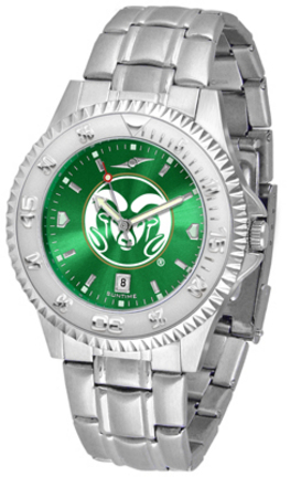 Colorado State Rams Competitor AnoChrome Men's Watch with Steel Band