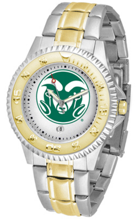 Colorado State Rams Competitor Two Tone Watch