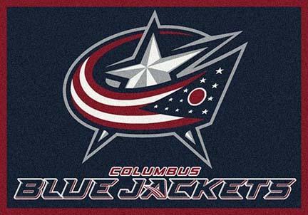 "Columbus Blue Jackets 3' 10"" x 5' 4"" Team Spirit Area Rug"