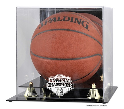 Connecticut Huskies NCAA 2011 Men's National Champions Golden Classic Basketball Display Case