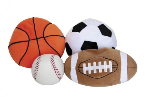 Covered in Comfort 1543187 Sport Ball Set Set of 4