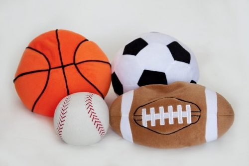 Covered in Comfort Sport Ball Set