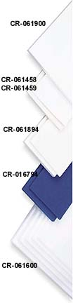 "Cramer Adhesive Backed High-Density Foam Kit - 2 Sheets Of 1/8"" (12"" x 18"" Each Sheet) - Package of 6 Kits"