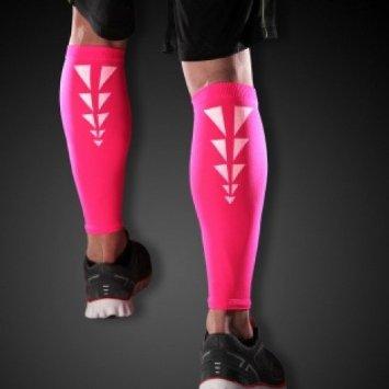 Cramer CRM279059 ESS Reflective Calf Sleeve Pink - Medium