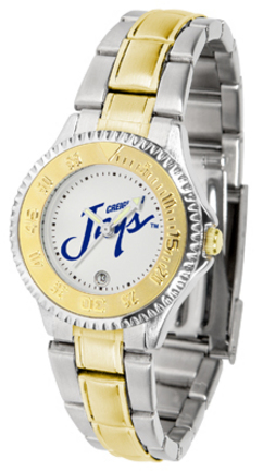 Creighton Blue Jays Competitor Ladies Watch with Two-Tone Band