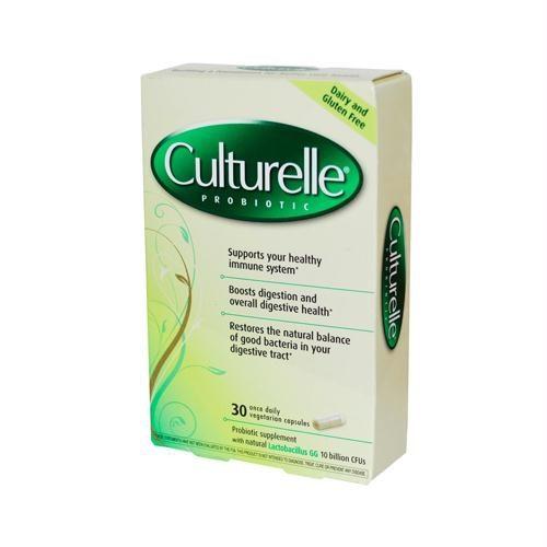 Culturelle 720458 Culturelle Probiotic - 30 Vegetable Capsules - Pack of 3