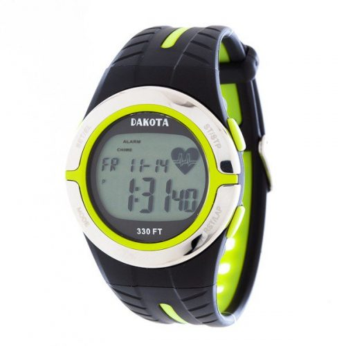 Dakota Watch Heart Rate Monitor - Lime