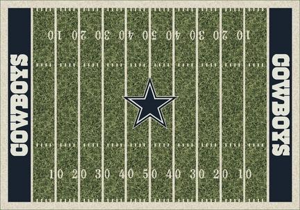 """Dallas Cowboys 3' 10"""" x 5' 4"""" Home Field Area Rug"""
