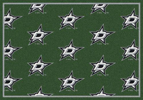 "Dallas Stars 2' 1"" x 7' 8"" Team Repeat Area Rug Runner"