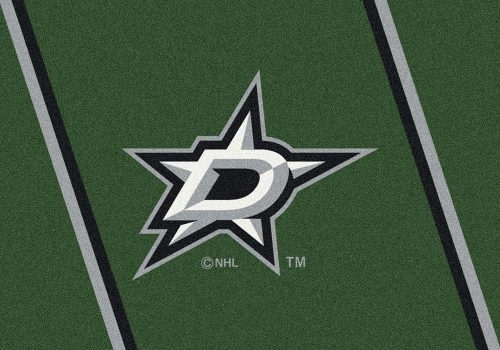 "Dallas Stars 3' 10"" x 5' 4"" Team Spirit Area Rug"