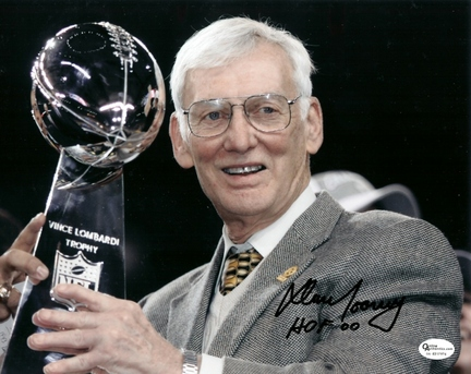"Dan Rooney Autographed Pittsburgh Steelers 8"" x 10"" Photograph with ""Hall of Famer 00"" inscription (Unframed)"