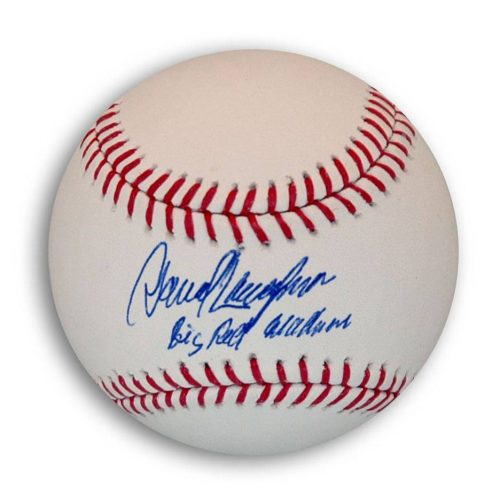 "Dave Concepcion Autographed MLB Baseball Inscribed ""Big Red Machine"