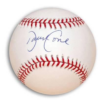 David Cone Autographed MLB Baseball