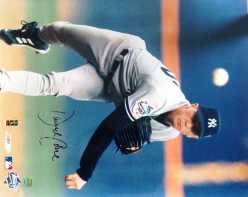 "David Cone New York Yankees Autographed 16"" x 20"" Unframed Photograph (The Delivery)"