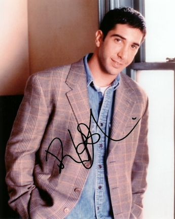 "David Schwimmer Autographed ""Friends"" 8"" x 10"" Photograph (Unframed)"