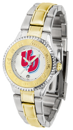 Dayton Flyers Competitor Ladies Watch with Two-Tone Band