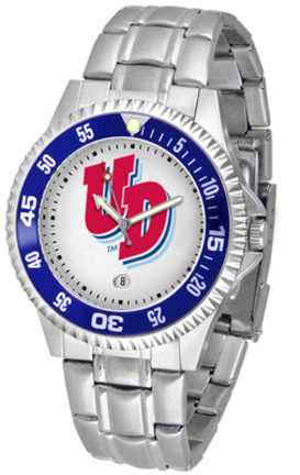 Dayton Flyers Competitor Men's Watch with Steel Band