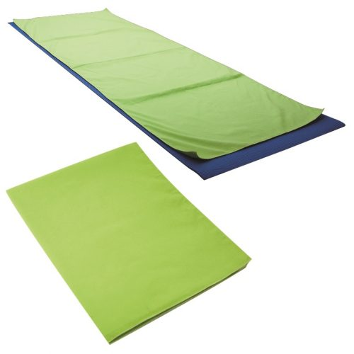 Debco YM8274 Yoga / Workout Towel - Lime Green - 12 Pack