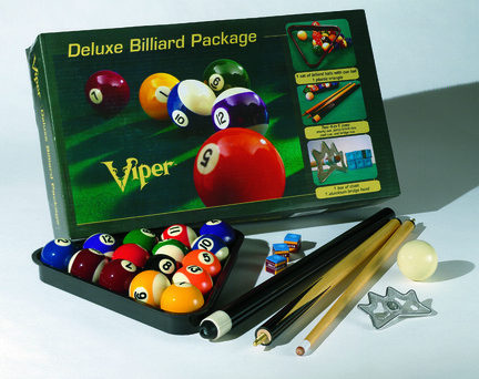 Deluxe Billiard Package