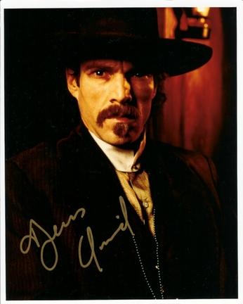 """Dennis Quaid Autographed 8"""" x 10"""" Photograph (Unframed)"""