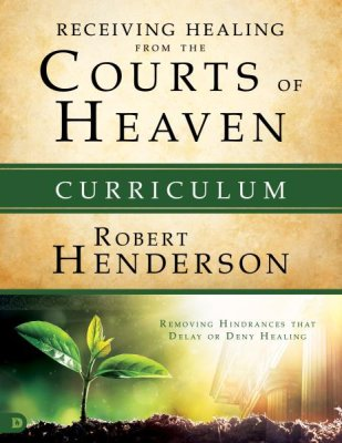 Destiny Image Publishers 199689 Receiving Healing From the Courts of Heaven Curriculum Kit