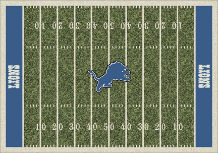 "Detroit Lions 3' 10"" x 5' 4"" Home Field Area Rug"