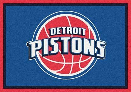 "Detroit Pistons 3' 10"" x 5' 4"" Team Spirit Area Rug"