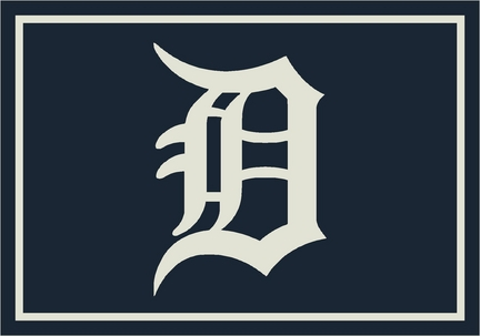 "Detroit Tigers 3'10"" x 5'4"" Team Spirit Area Rug"