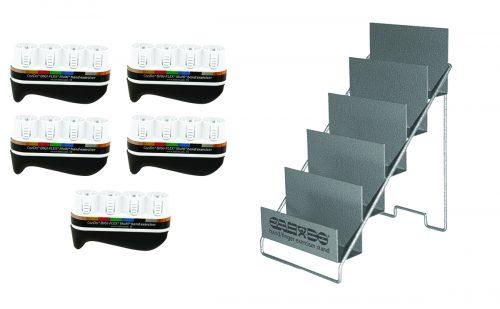 Digi-Flex 10-3831 5 Frames with Metal Rack