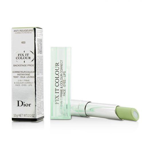 Dior 208212 2 in 1 Prime & Fix It Colour Correct - Green