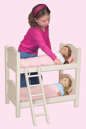 Doll Bunk Bed (White)